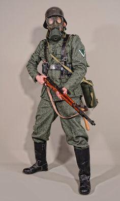 Military - uniform Wehrmacht soldiers WW2 - 01 by MazUsKarL #wehrmacht #uniform #gasmask #landser #militaria #military #k98 #knobelbecher #feldgrau #infanterie #ww2 #warfare #blitzkrieg #heer #uniform #history #soldat