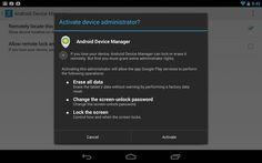 Android users can now lock their lost devices remotely Google's Android Device Manager lets users remotely lock a lost or stolen device with a new password. by Lance Whitney  September 24, 2013