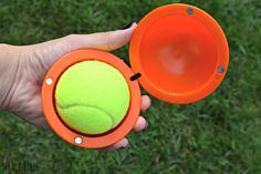 Is your dog a tennis ball fiend? Well then you need the Fetch It Case to carry around those gross, slobbery balls after play time!
