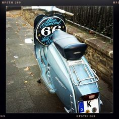 "Lambretta Special 125 ""Bluespecial 66 A Love Supreme"" Artwork by Lord Dunsby"