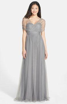 Jenny Yoo 'Annabelle' Convertible Tulle Column Dress (Regular & Plus Size) | Nordstrom