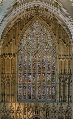 York Minster, built from 1220-1472, is a masterpiece of Gothic architecture & engineering (Photos 2-4: David Iliff)