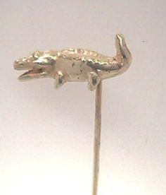 #Krawattennadel #Tier #Krokodil Legierung: 585 Gold http://schmuck-boerse.com/maenner/26/detail.htm http://schmuck-boerse.com/index-gold-herrenschmuck-2.htm