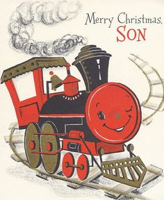 Vintage Christmas Greeting Card  by Hallmark.