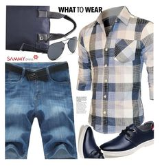 """""""Untitled #3128"""" by ansev ❤ liked on Polyvore featuring men's fashion, menswear and sammydress"""