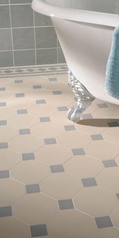London mosaic victorian tile design octagon 150 for Carrelage villeroy