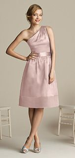 After Six Style 6582 Bridesmaid Dress in Ice Pink... not a fan of the color, but love the style!