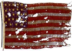 Civil War Flag-- I am pretty sure I saw this or a replica at the Smithsonian in DC