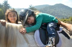 Moxie has started horse therapy! - and a bit about horse therapy and disability