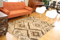 New City Brand New Contemporary Brown and Beige Modern Floral Flowers Area Rug 7'10 x 10'10 Feraghan/New City http://www.amazon.com/dp/B00JHP8ROU/ref=cm_sw_r_pi_dp_zowpub1EZA32J