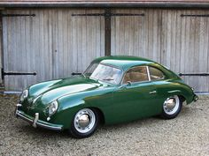 Looking for the Porsche 356 of your dreams? There are currently 128 Porsche 356 cars as well as thousands of other iconic classic and collectors cars for sale on Classic Driver. Vintage Sports Cars, Cool Sports Cars, Super Sport Cars, Retro Cars, Vintage Cars, Super Car, Porsche 356 Speedster, Porsche 356a, Porsche Carrera
