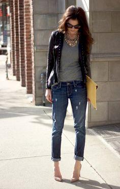 Street Style Spotlight: 25 Ways To Wear Boyfriend Jeans