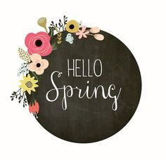Even though it's rainy and cold, hello spring! #Happyfriday ☔️☔️☺️