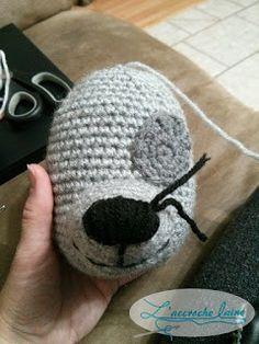 L'accroche laine - Tutoriel au crochet et plusieurs patrons gratuits: Rocky (Pat'Patrouille)