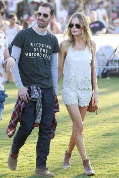 Kate Bosworth de Topshop en Coachella.
