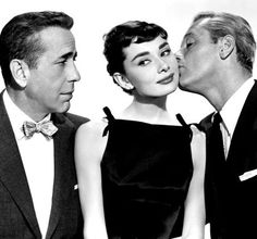 Sabrina...Audry Hepburn, William Holden & Humphrey Bogart, 1951.
