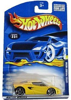 Hot Wheels 2001 Lotus Project M250 YELLOW #231
