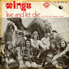 https://flic.kr/p/akuhQv | LI-23-F001 | Artist - WINGS Title - LIVE AND LET DIE Label  Ref. - APPLE 8E006-05361MF Year  - 1973 Country - PORTUGAL