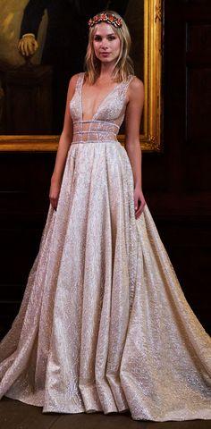 Berta Bridal Wedding Dresses Fall Winter 2016 NYBFW Presentation Show Bridal Collection