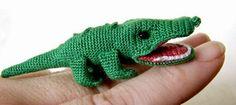 Cute Crocheted Alligator Free Pattern
