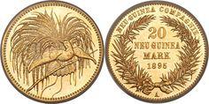 Deutsches Neu-Guinea AV 20 Marks 1895-A Berlin Mint Kaiser Wilhelm II 1888-1918