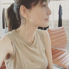 May 14,2015 : エナソルーナのとってもキャシャなブラブラピアスとネックレスやっと届いたー(*^^*) 梨花 公式ブログ Powered by LINE