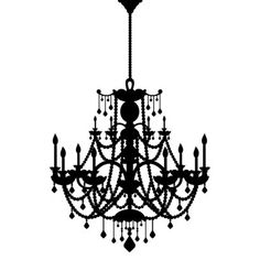 Love the chandelier
