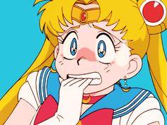 kasugano  #Sailor #Moon #original #anime #90s #Usagi #Sabrina