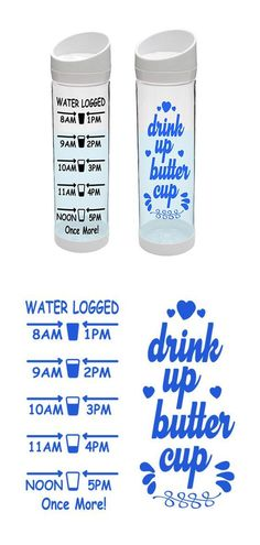 Drink up buttercup Cricut Air, Cricut Vinyl, Cricut Craft, Cricut Monogram, Vinyl Crafts, Vinyl Projects, Harry Potter Logo, Bottle Cutting, Circuit Projects