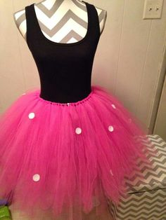 Minnie Mouse Tutu Made by 2Kute2Sassy