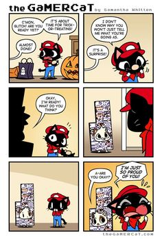 the GaMERCaT :: Glitched Glitch | Tapastic Comics - image 1