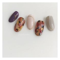秋/冬/パーティー/デート/ハンド - jojolyckaのネイルデザイン[No.2535552]|ネイルブック Japan Nail, Gel Nails At Home, Nails 2018, Autumn Nails, Mani Pedi, Short Nails, Beauty Nails, Cute Nails, Design Art