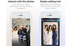 CAPSULE APP This genius (and completely free) app lets guests instantly add photos to your album from their phones, and stores them for an extended period of time so you can be sure you'll have them to look back on after the big day. Plus, you can start using it from the beginning of the wedding process to capture unstaged shots of your hen night, the stag (although you'd perhaps rather not) and more. Visit TryCapsule.com