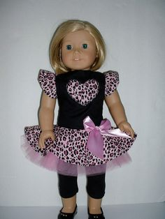Pink and black animal print dress and leggings fits by patwise, $17.99