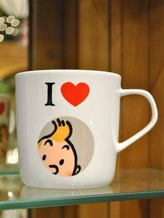 I Love Tintin Mug