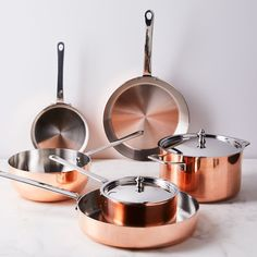 Scanpan Maître D' Copper Cookware Collection Casseroles, Best Meatloaf, Copper Pans, Copper Cookware Set, Hammered Copper, Kitchen Supplies, Food 52, Meals For The Week, Country Kitchen