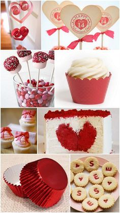 Almost Valentine's Day! These mouth watering goodies will make your Valentine's day much much sweeter! My Funny Valentine, Valentines Day Date, Valentines Day Treats, Valentines Day Decorations, Valentine Day Love, Valentine Day Crafts, Holiday Treats, Holiday Fun, Valentine Desserts