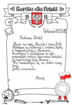 Polska może być dumna, że ma takie dzieci! Ja jestem megadumna z moich uczniów.                                             Wychowawczyni ... Science For Kids, Educational Activities, Montessori, Crafts For Kids, Bullet Journal, Hand Lettering, School, Maps, Geography