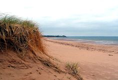 Prince Edward Island, Canada where Anne of Green Gables takes place and was filmed! my favorite childhood memory Red Sand Beach, Destinations, Holiday Places, Kayak, Prince Edward Island, Anne Of Green Gables, Vacation Spots, Summer Vacations, Canada Travel