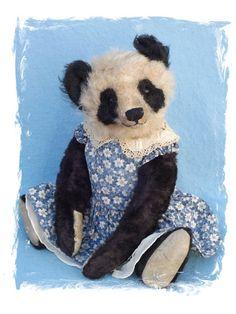 Wanda Bing by Mary, Forget Me Not Bears - Abracadabra Teddy Bears