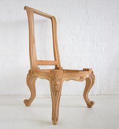 Traditional French Dining Chair / Shaped High Back Chair / Dutch Connection