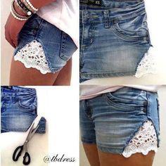 DIY: Customize ton short!