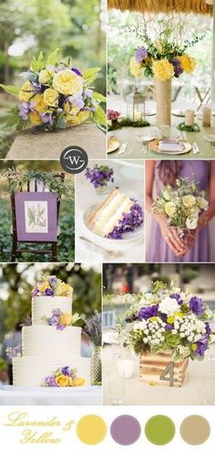 bright yellow and lavender yellow wedding colors bright yellow and lavender yell. bright yellow and lavender yellow wedding colors bright yellow and lavender yellow wedding colors b Yellow Wedding Colors, Spring Wedding Colors, Wedding Summer, Summer Colors, Wedding Reception, Light Yellow Weddings, Wedding Table, August Wedding Colors, Lavender Wedding Colors
