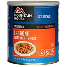 Buy Mountain House Lasagna with Meat Sauce