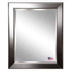 Shop Rayne Mirrors  R001 Silver Wall Mirror at The Mine. Browse our wall mirrors, all with free shipping and best price guaranteed.