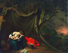 The Dead Soldier - Joseph Wright