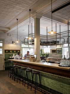 Customized Il Fanale light fittings at The Terminus Hotel Pyrmont
