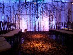 A fairytale wedding ceremony decor @91Horatio