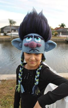 Get your hair in the air with this amazing Branch Crochet Hat Pattern inspired by the Dreamworks movie Trolls! This Branch Trolls crochet hat is made with soft, durable acrylic yarn and features a 3-D amigurumi-style design that looks stunning from every angle. Your loved one (or you!) will adore this one-of-a-kind Trolls Movie crochet hat. Many hours were spent perfecting and photographing this pattern to make it as comprehensive and concise as possible. The result is a professional…