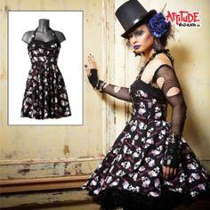 'Kitsch skull' mini dress   Shop entertainment  Kaboodle